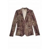 Airfield - Courtney-blazer 73 254 64 955 78 roze tricot print