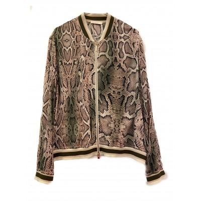 Airfield - passion-jacket bomber jacket slangenprint