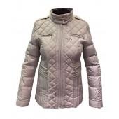 Airfield - Dakar jacket grijze donsjas stiksels