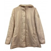 Airfield - Fun Coat Mantel off-white half lang omkeerbaar fake fur