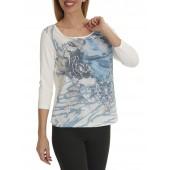 Betty Barclay -T-shirt print ijsblauw - 46440540