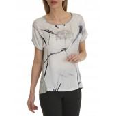 Betty Barclay -T-shirt print grijs - 46500545