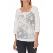 Betty Barclay - Bloes wit met print - 6089/9795/1014