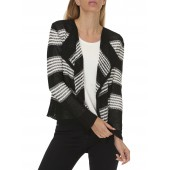 Betty Barclay - Gilet wit zwart - 6609/0418/9812