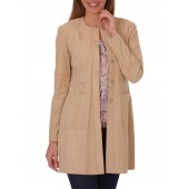 Betty Barclay - 501724017092 - beige mantel alcantara
