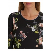Betty Barclay - T-shirt blauw met bloemenprint - 4833/0549/8847