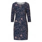Betty Barclay - kleed blauw roze bloemen - 6412/0515/8847