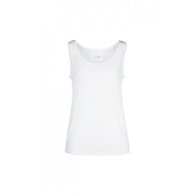 Marccain Sports - LS 61 04 W76 Top wit met kleur-op-kleur druk