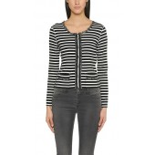 Marccain Sport - Shirt FS4814 J89 - zwart wit streep