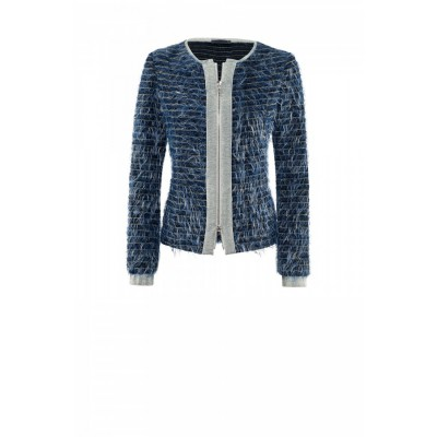 Airfield - Boom jacket 79 255 03 734 grijs blauw