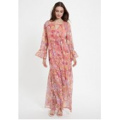 Ana Alcazar - 048318 maxi dress roze lila voile