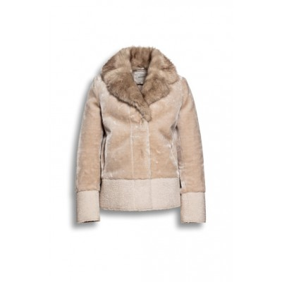 Beaumont Amsterdam - BM 5612193 - Winterjas Faux fur beige