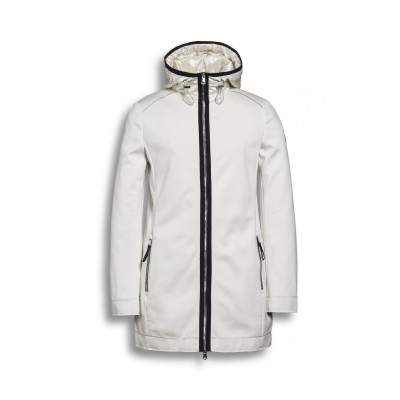 Beaumont Amsterdam - BM8221201 - Bonded Jersey Hoodie - Offwhite