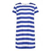 Betty Barclay - 1152 3135 8819 robe légère kleed wit blauwe streep