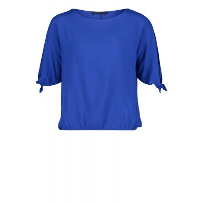 Betty Barclay - 60039797 - Hoog blauwe bloes shirt
