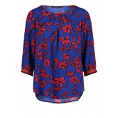 Betty Barclay - 60098123 - Bloes blauw rood print