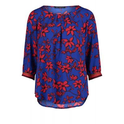 Betty Barclay - 60098123 - Bloes blauw rood print