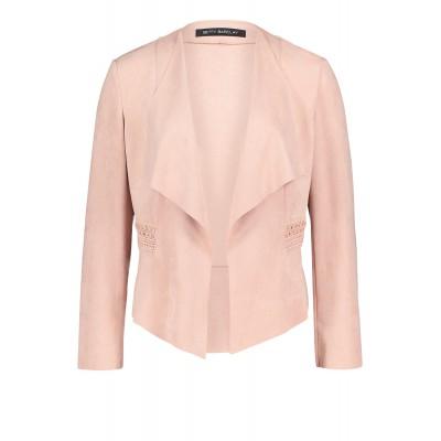 Betty Barclay - 4023 1216 4002 gilet in roze alcantara