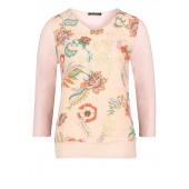 Betty Barclay - 2099 1346 4825 Roze bloes-shirt bloemenprint