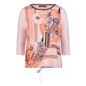 Betty Barclay - 2050 1190 4859 abstract gebloemde T-shirt koraal