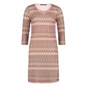 Betty Barclay - 1007 1253 kleed roze tinten missoni-look