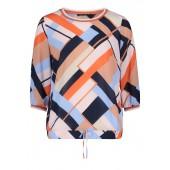 Betty Barclay - 8015 1141 8847 bloes geometrische print oranje