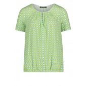 Betty Barclay - 2082 1330 8854 Luchtig bloesje met restro print groen