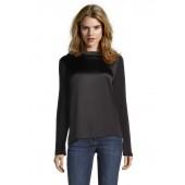 Betty Barclay - 2340 1810 Zwart satijnen Bloes - shirt