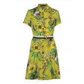 Betty Barclay - 1576 2327 Hemdkleed frisse geel groene print