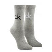 Calvin Klein - Kousen set grijs met logo - ECB637