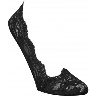 Calvin Klein - enkelsokken ECX517 zwarte kant