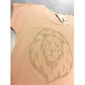 Dexters TO112 -  zalmrose shirt met tijger