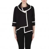 Joseph Ribkoff -  173305 - zwart wit vestje