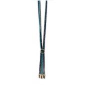 Les Cordes - Rafer multi blauw lange ketting