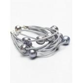 Titto Antoign armband - bracelet lightgrey