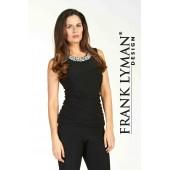 Frank Lyman - 64064 - Zwarte top met parels