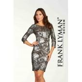 Frank Lyman - 64353 - kleed print met zilver