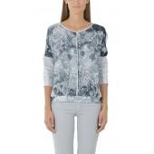 Marccain Sports - GS5501W02 - Bloes shirt slangenprint grijstinten