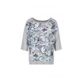 Marccain Sport -  KS 5523 J26 - Bloes shirt met luipaardprint