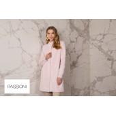 Passioni - 10194 Zeer zacht warme roze gilet.