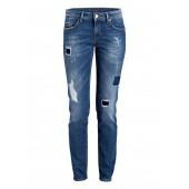 Raffaello Rossi - Sinty destroy Jeans 5-pocket blauw