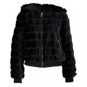 Relish - Pelliccia Bloomsbury Fake fure jas zwart