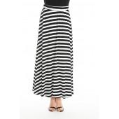 Relish - Gonna Narmu lange rok zwart witte strepen