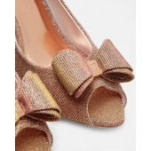 Ted Baker - Alifair - Peep toe pump - Rose gold