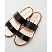 Ted Baker - Maiwen - sandaal zwart met 2 banden
