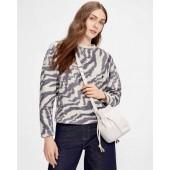 Ted Baker - Satrice - sweater zebra grijs