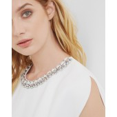 Ted Baker - Paree - Ecru top met strass