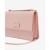 Ted Baker - Delilia roze handtas met strik