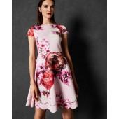 Ted Baker - Seeana - Roze met bloemen print