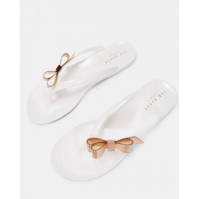 Ted Baker - Suszie - White slippers